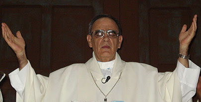 Monseñor Álvaro Beyra Luarca, Obispo del Santísimo Salvador de Bayamo-Manzanillo