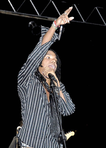 Raúl Torres, concierto en Bayamo / Foto Luis Carlos Palacios Leyva