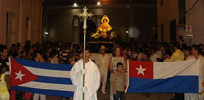 Peregrinación de Virgen de La Caridad del Cobre, Patrona de Cuba